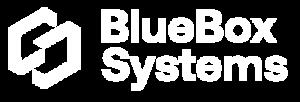BlueBox Systems Logo weiß
